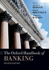 Omslag - The Oxford Handbook of Banking