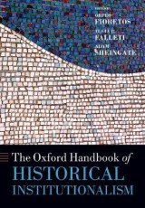 Omslag - The Oxford Handbook of Historical Institutionalism