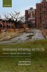 Omslag - Contemporary Archaeology and the City