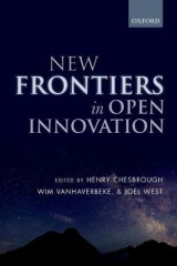 Omslag - New Frontiers in Open Innovation