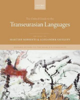 Omslag - The Oxford Guide to the Transeurasian Languages