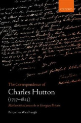 Omslag - The Correspondence of Charles Hutton