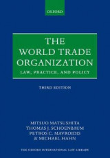 Omslag - The World Trade Organization