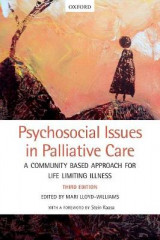 Omslag - Psychosocial Issues in Palliative Care