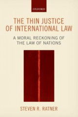 Omslag - The Thin Justice of International Law