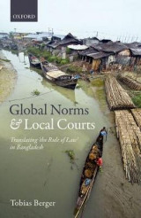 Omslag - Global Norms and Local Courts