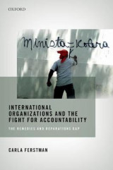 Omslag - International Organizations and the Fight for Accountability: International Organizations and the Fight for Accountability