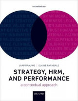 Omslag - Strategy, HRM, and Performance