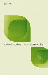 Omslag - Oxford Studies in Normative Ethics, Vol 7