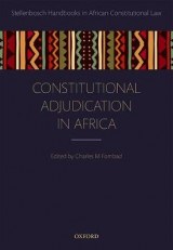 Omslag - Constitutional Adjudication in Africa