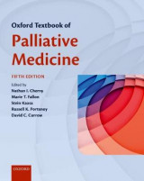 Omslag - Oxford Textbook of Palliative Medicine