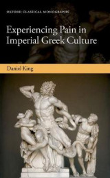 Omslag - Experiencing Pain in Imperial Greek Culture