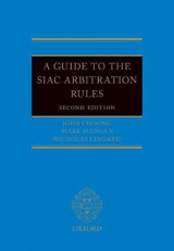 Omslag - A Guide to the SIAC Arbitration Rules