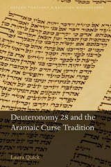 Omslag - Deuteronomy 28 and the Aramaic Curse Tradition