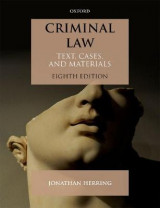 Omslag - Criminal Law
