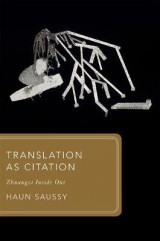 Omslag - Translation as Citation