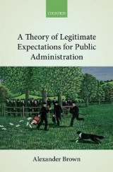 Omslag - A Theory of Legitimate Expectations for Public Administration