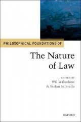 Omslag - Philosophical Foundations of the Nature of Law