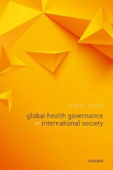Omslag - Global Health Governance in International Society