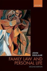 Omslag - Family Law and Personal Life