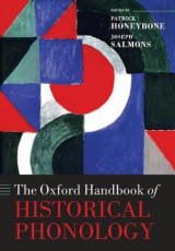 Omslag - The Oxford Handbook of Historical Phonology
