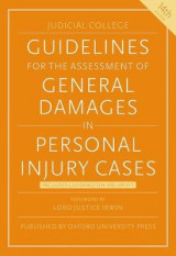 Omslag - Guidelines for the Assessment of General Damages in Personal Injury Cases