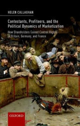 Omslag - Contestants, Profiteers, and the Political Dynamics of Marketization