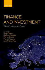 Omslag - Finance and Investment: The European Case