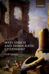 Omslag - Hate Speech and Democratic Citizenship