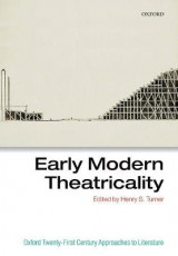 Omslag - Early Modern Theatricality