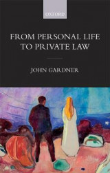 Omslag - From Personal Life to Private Law