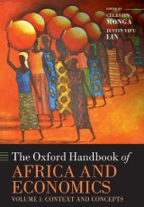 Omslag - The Oxford Handbook of Africa and Economics