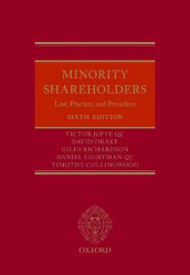 Minority Shareholders av Timothy Collingwood, David Drake, Victor Joffe QC, Daniel Lightman QC og Giles Richardson (Innbundet)