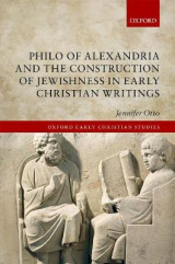 Omslag - Philo of Alexandria and the Construction of Jewishness in Early Christian Writings