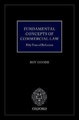 Omslag - Fundamental Concepts of Commercial Law