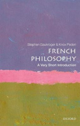 Omslag - French Philosophy: A Very Short Introduction
