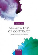 Omslag - Anson's Law of Contract