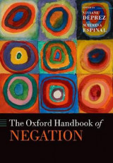 Omslag - The Oxford Handbook of Negation