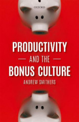 Omslag - Productivity and the Bonus Culture