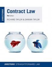 Contract Law Directions av Damian Taylor og Richard Taylor (Heftet)