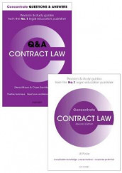 Contract Law Revision Concentrate Pack av James Devenney, Jill Poole, Clare Sandford-Couch, Adam Shaw-Mellors og Steve Wilson (Samlepakke)