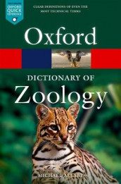 A Dictionary of Zoology av Michael Allaby (Heftet)