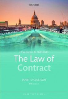 O'Sullivan & Hilliard's The Law of Contract av Janet O'Sullivan (Heftet)