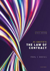 Omslag - JC Smith's The Law of Contract