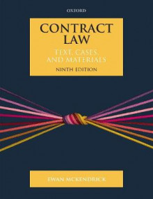 Contract Law av Ewan McKendrick (Heftet)