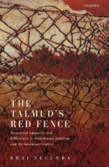 Omslag - The Talmud's Red Fence