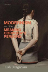 Omslag - Modernism and the Meaning of Corporate Persons