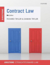 Omslag - Contract Law Directions