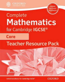 Complete Mathematics for Cambridge IGCSE Teacher's Resource Pack (Core) av Ian Bettison (Blandet mediaprodukt)