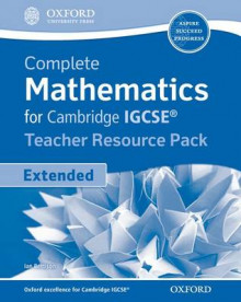 Complete Mathematics for Cambridge IGCSE Teacher's Resource Pack av Ian Bettison (Blandet mediaprodukt)